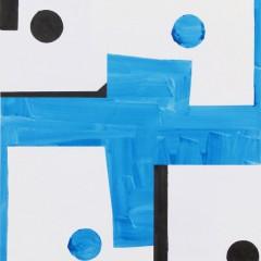 Britta Bogers, O.T., 2015, 103 x 73 cm, Acryl auf Papier