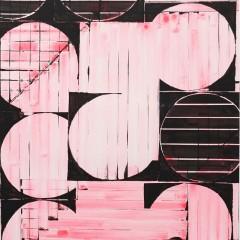 Britta Bogers, O.T., 2015, 103 x 73, Acryl auf Papier