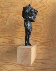 DuncanSwann-male-figure-(iv),-2015,-bronze,-28cm