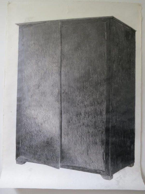 Hohmann Zeichnung-Schrank