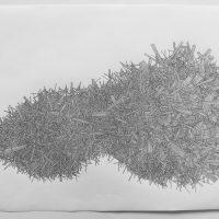 Daniela Wesenberg – Kristallisationen, 2014 Tuschestift auf Spezialpapier b_zeichng_krist02_lb