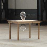 Bluemlein olztisch und Glas – 2012 (realisiert vom CIRVA, Marseille)