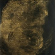 manifestations_10, Tusche, Lack, Acryl auf Papier, 102x72cm, 2017
