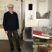 Karl Schleinkofer im Atelier