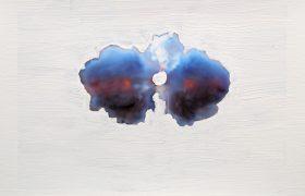 Rose Stach-Abschuss-5-(aus-der-Serie-Clouds)_Fotograf-ie-Übermalung_C-Print_300dpi_Rose-Stach