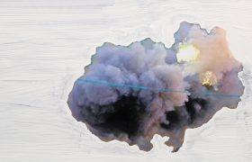 Rose Stach-Abschuss-6-(aus-der-Serie-Clouds)_Fotograf-ie-Übermalung_C-Print_Rose-Stach_300dpi