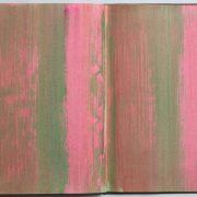 One page of my colordiaries every day – 09.05.2020 Buch 8, 1999 Foto: Carl Victor Dahmen …eine leichte Bewegung – wie ein Hauch – die Farbe, sanfte Berührung – wie ein Atem … wärend ich male, wartet die Welt…
