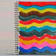 Claudia Desgranges Farbtagebuch-2020-05-01 aus Buch 77-2019-20_Foto Victor Dahmen