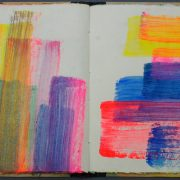 Claudia Desgranges Farbtagebuch-2020-05-03 aus Buch 54-2012-13_Foto Carl Victor Dahmen