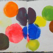 Claudia Desgranges Farbtagebuch-2020-05-09 aus Buch 60-2015_Foto Carl Victor Dahmen